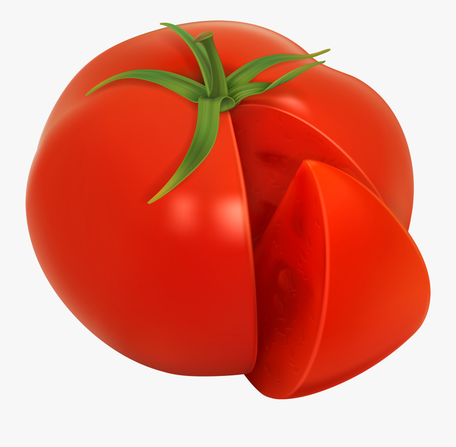 Tomato Png Clipart Image - Tomato, Transparent Clipart