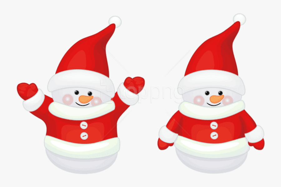 Free Png Transparent Cute Red Santa Claus Decor Png - Santa Claus, Transparent Clipart