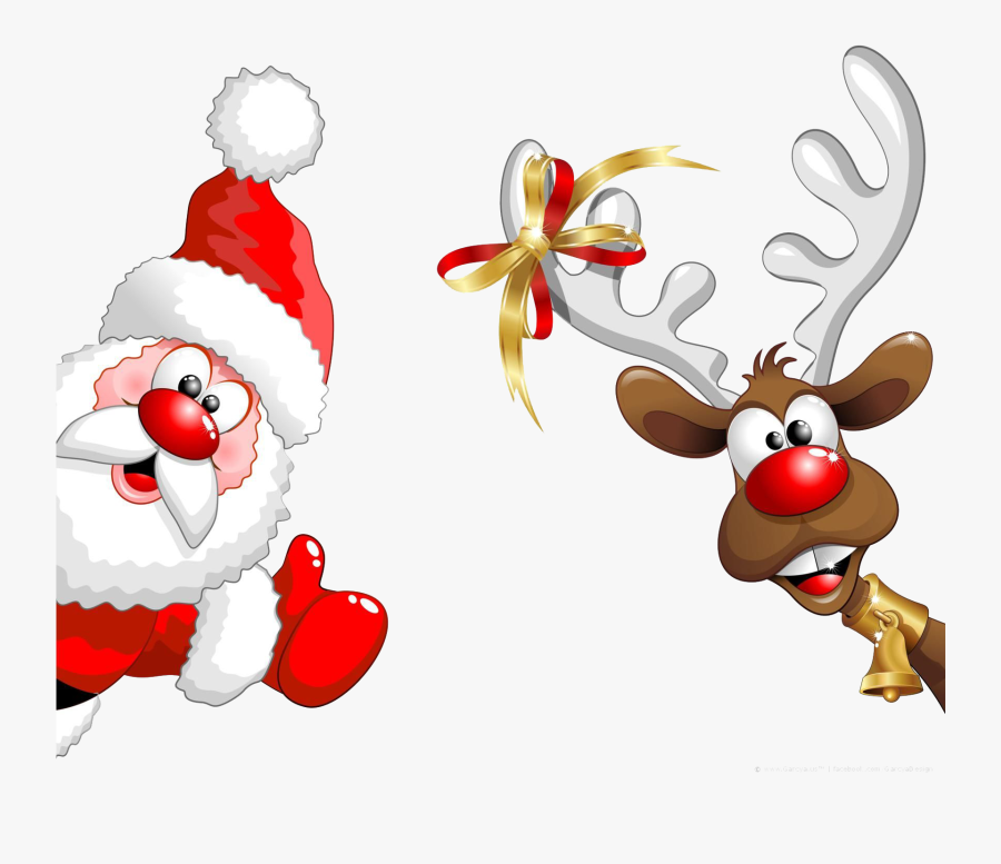 Santa Claus - Two Weeks Till Christmas, Transparent Clipart