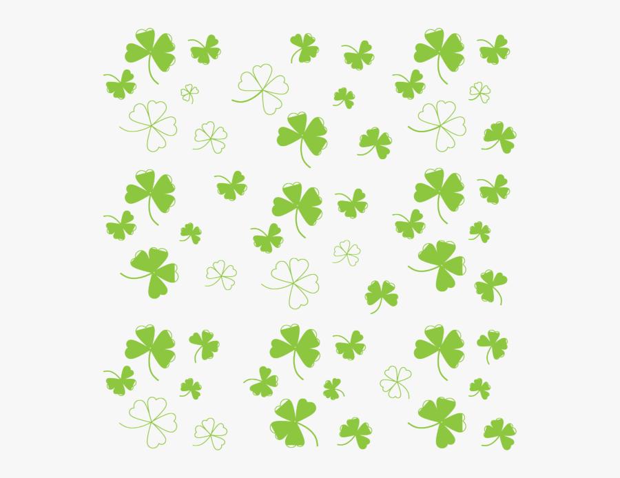 Four Leaf Clover Backgrounds, Transparent Clipart