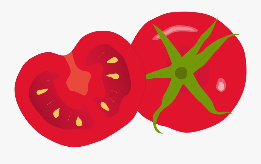 Transparent Basil Clipart - Transparent Background Tomato Png Clipart, Transparent Clipart