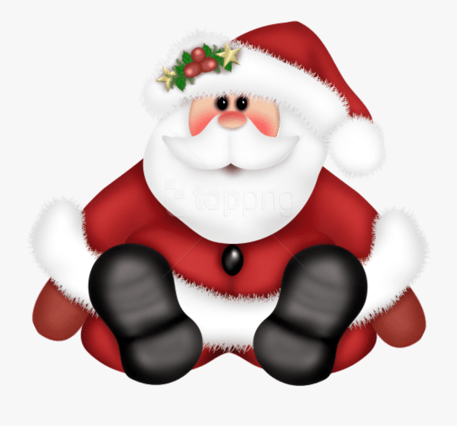Transparent Santa Claus Png - Christmas Clipart Png Santa, Transparent Clipart