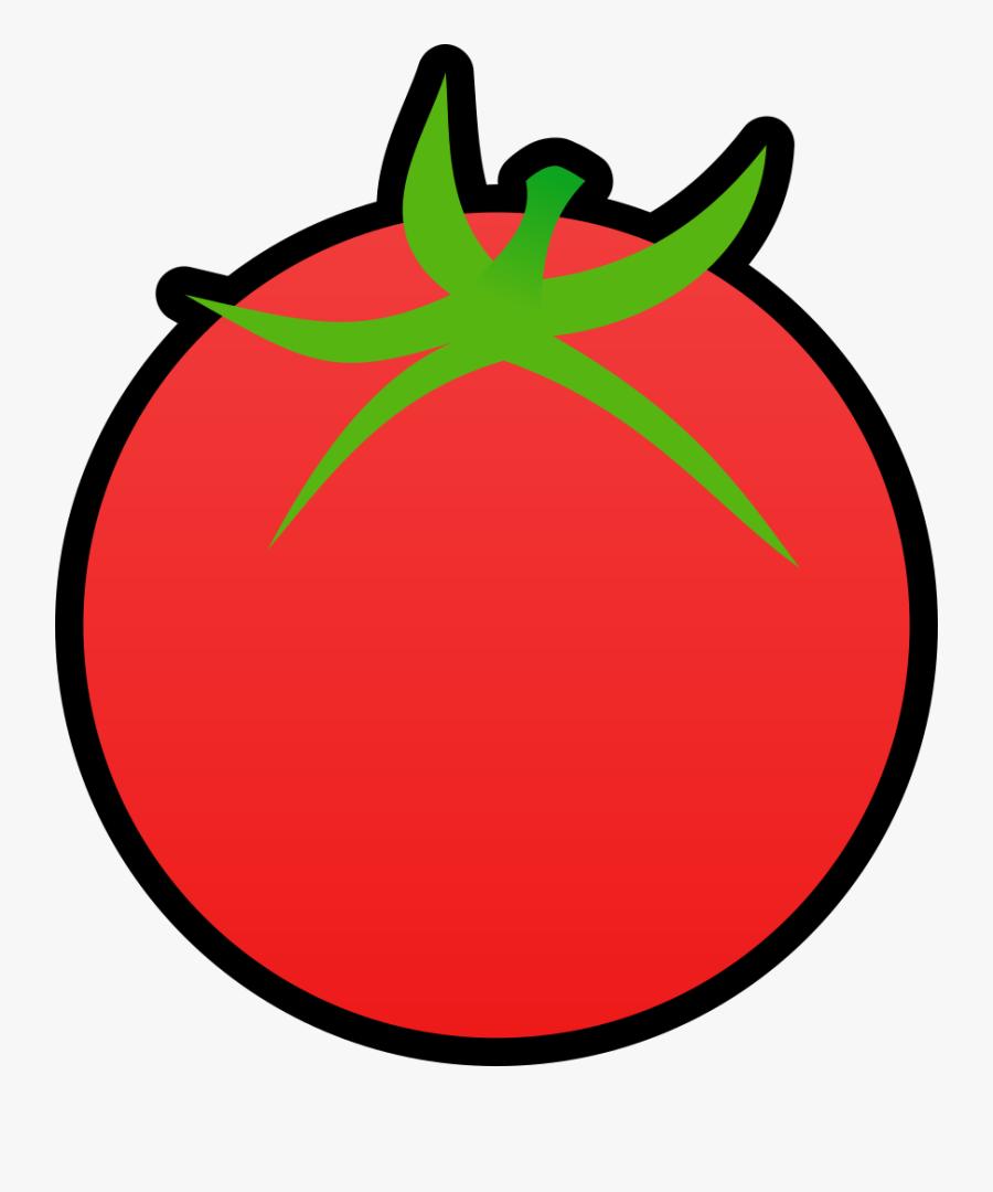 Tomato Clip Art Transparent Background, Transparent Clipart