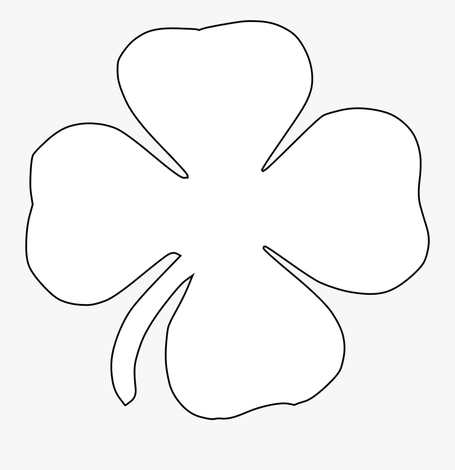 Clover Four-leaf Clover Luck Free Picture - White Clover Png Transparent, Transparent Clipart