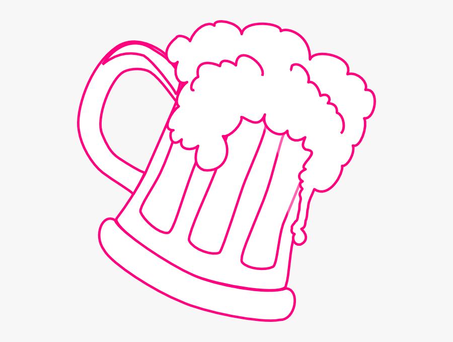 Transparent Beer Mug Clipart - Beer Mug Svg, Transparent Clipart