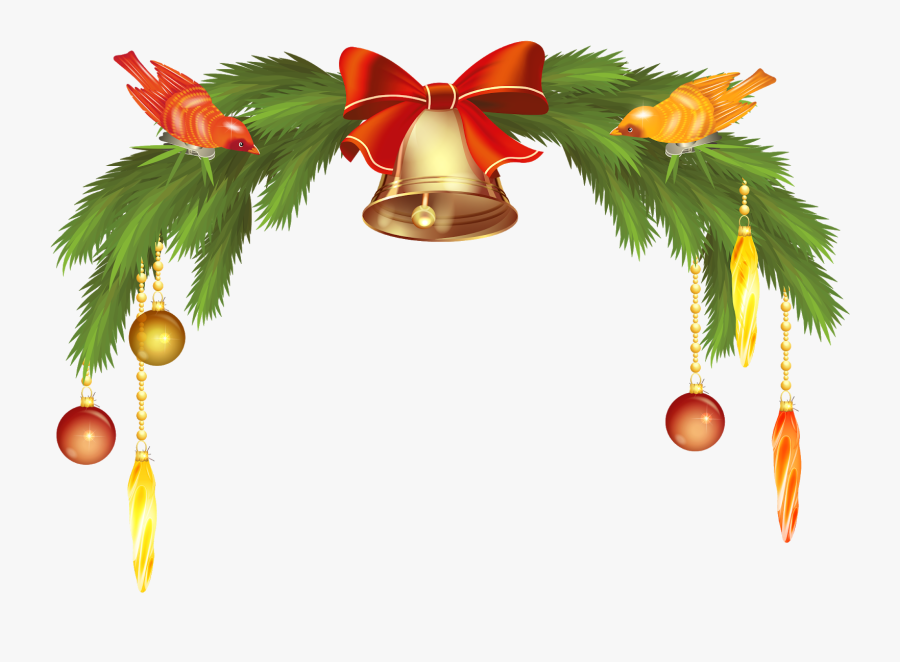 Christmas Bell Png, Transparent Clipart