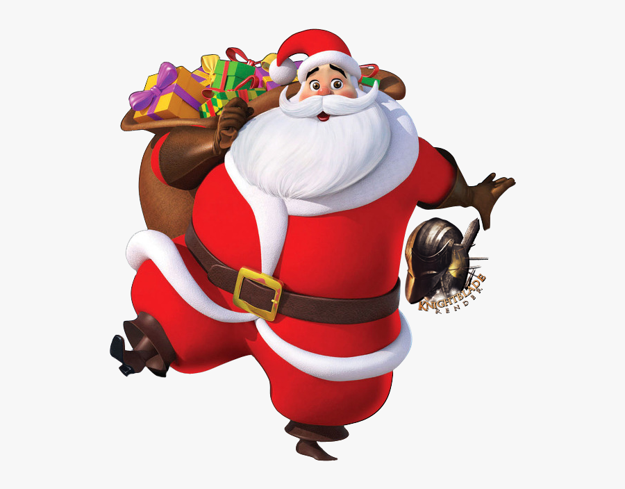 Santa Christmas Images Hd, Transparent Clipart