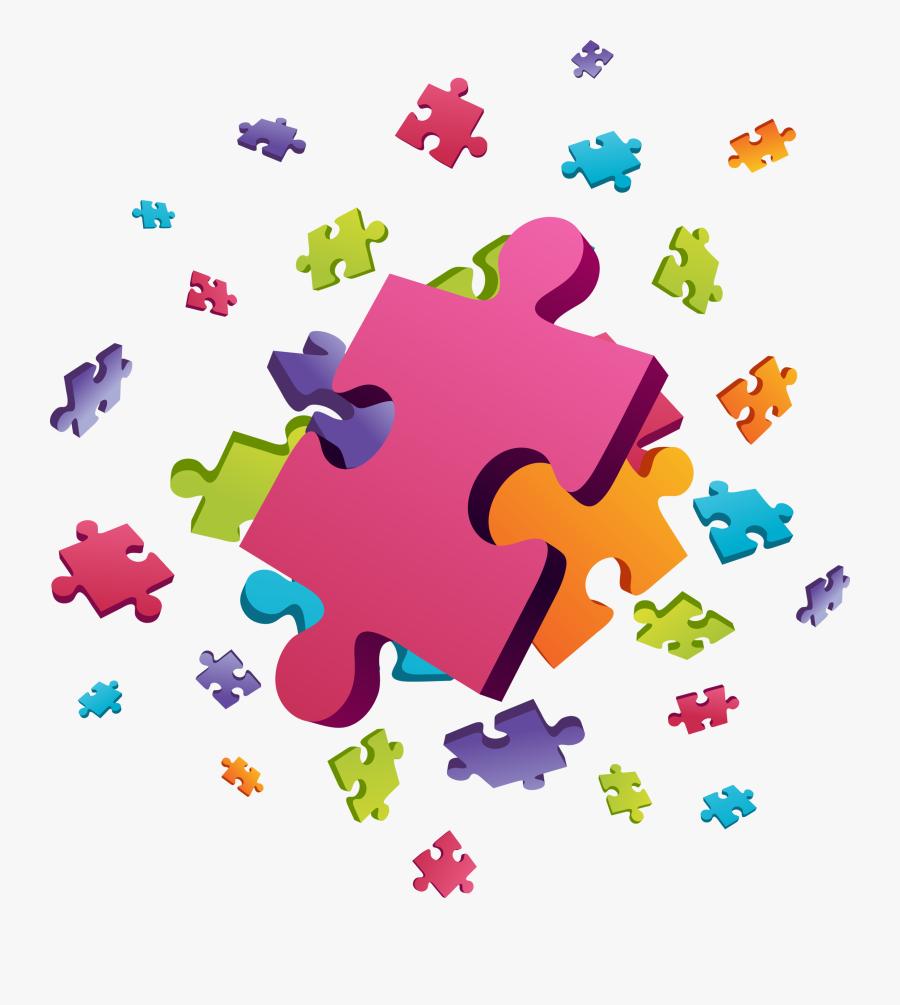 Preschool Clipart Puzzle - Puzzle Clipart, Transparent Clipart