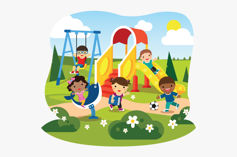 Preschool Playground Clipart, Transparent Clipart