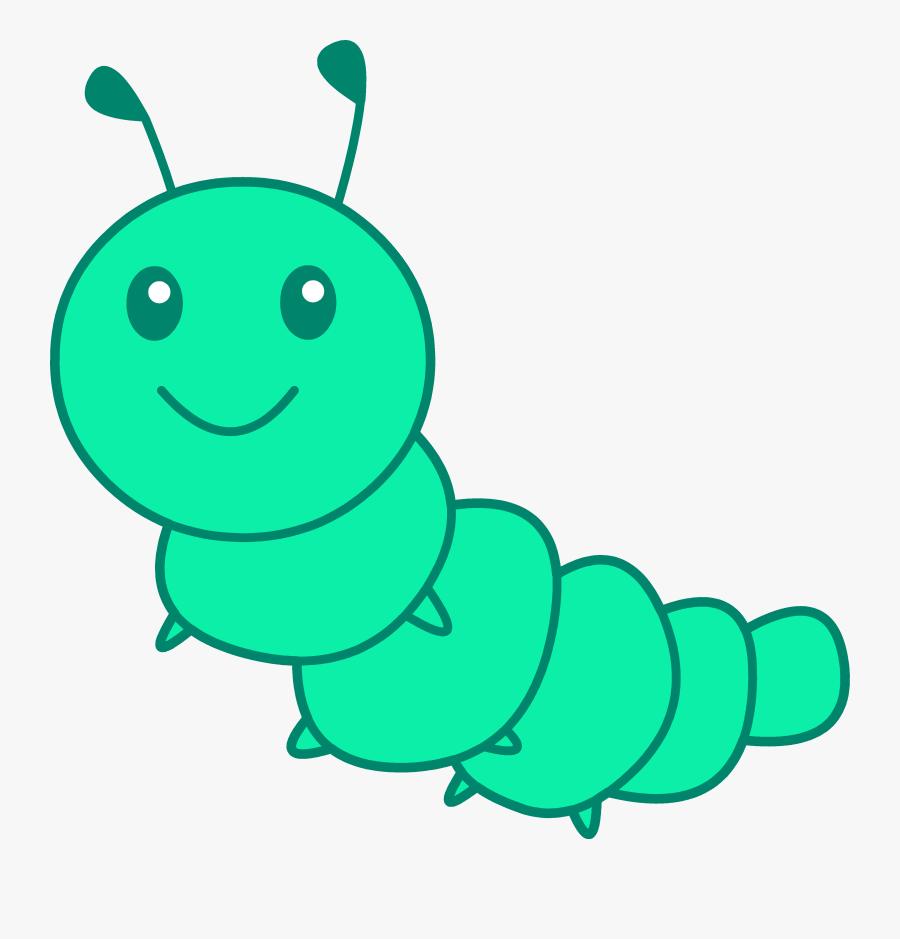 Green Caterpillar Clipart Free Clip Art Images - Caterpillar Clipart Png, Transparent Clipart