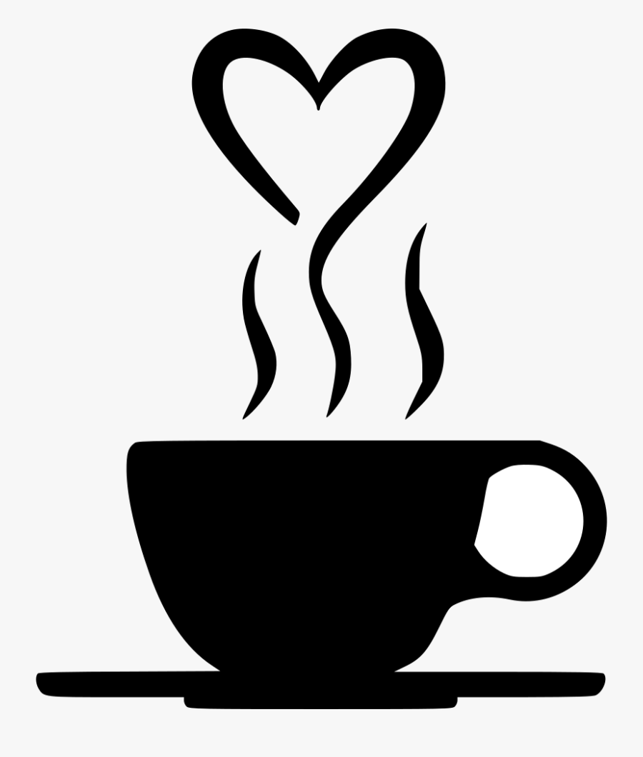 Coffee Smoke Transparent Clipart Pictures Free Png - Heart Coffee Cup Svg, Transparent Clipart