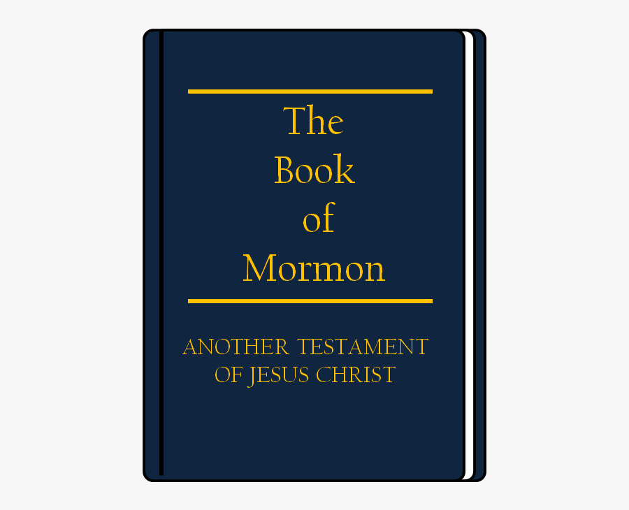 Clipart Book Of Mormon Freeuse Stock - Electric Blue, Transparent Clipart