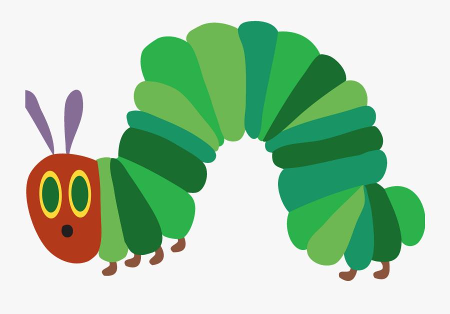 Clip Art Hungry Caterpillar Clipart - Very Hungry Caterpillar, Transparent Clipart