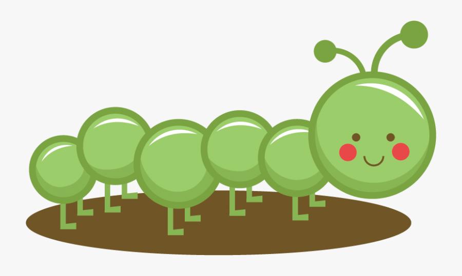 Free Caterpillar Clipart - Cute Caterpillar Clipart, Transparent Clipart