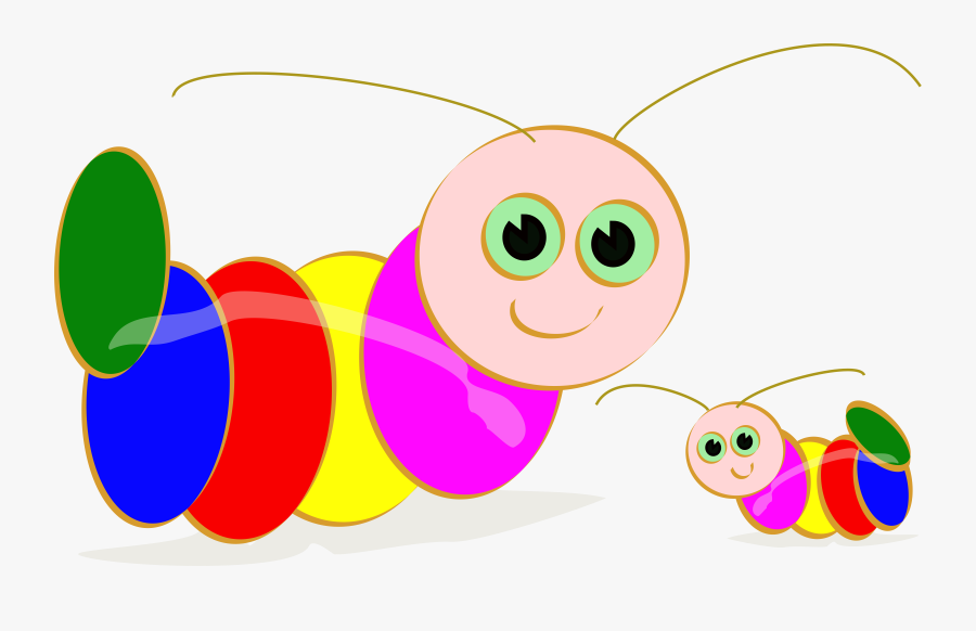 Caterpillar Clipart Free Free - Caterpillar Clipart, Transparent Clipart