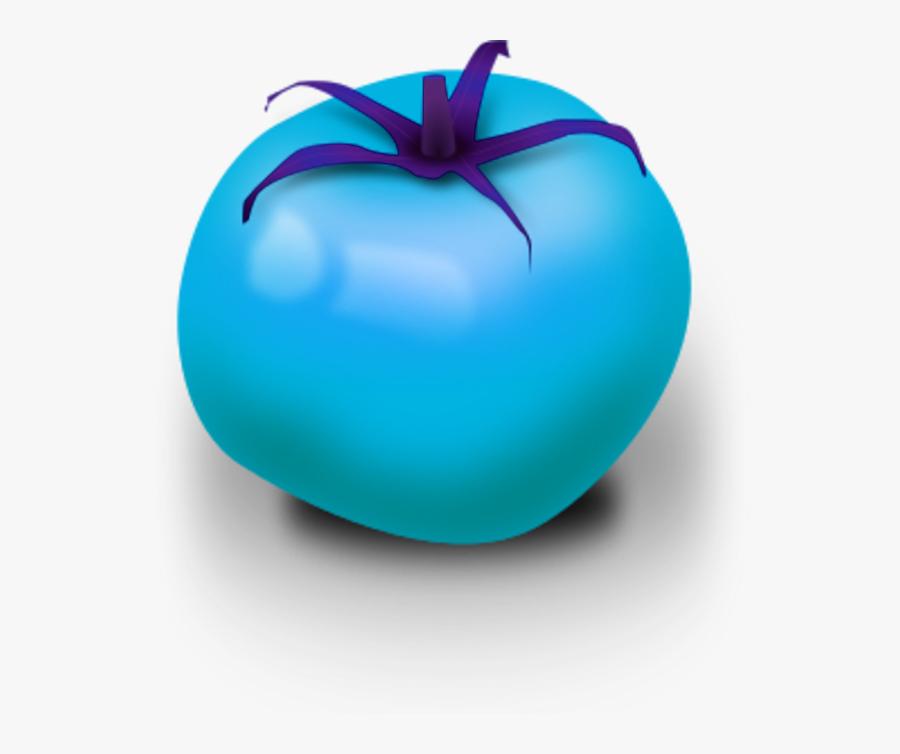 Fresh Tomato Vector Clip Art - Blue Tomato Clip Art, Transparent Clipart