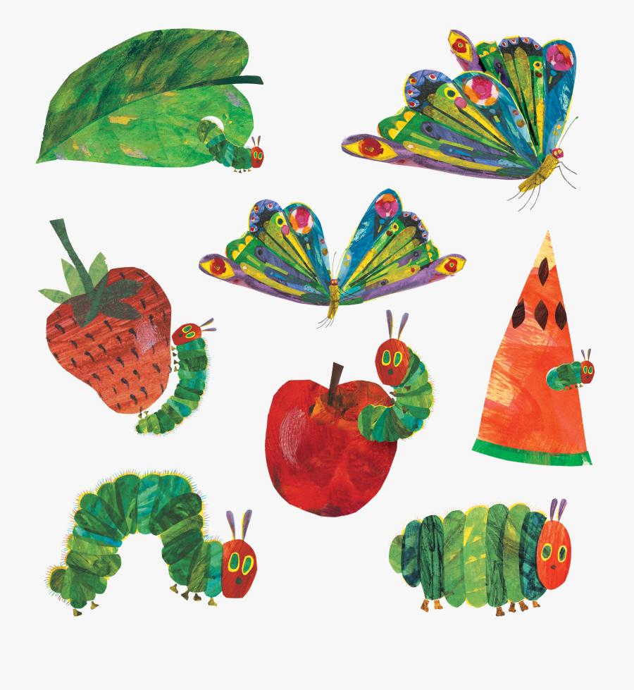 Transparent Hungry Caterpillar Png - Eric Carle The Very Hungry Caterpillar, Transparent Clipart