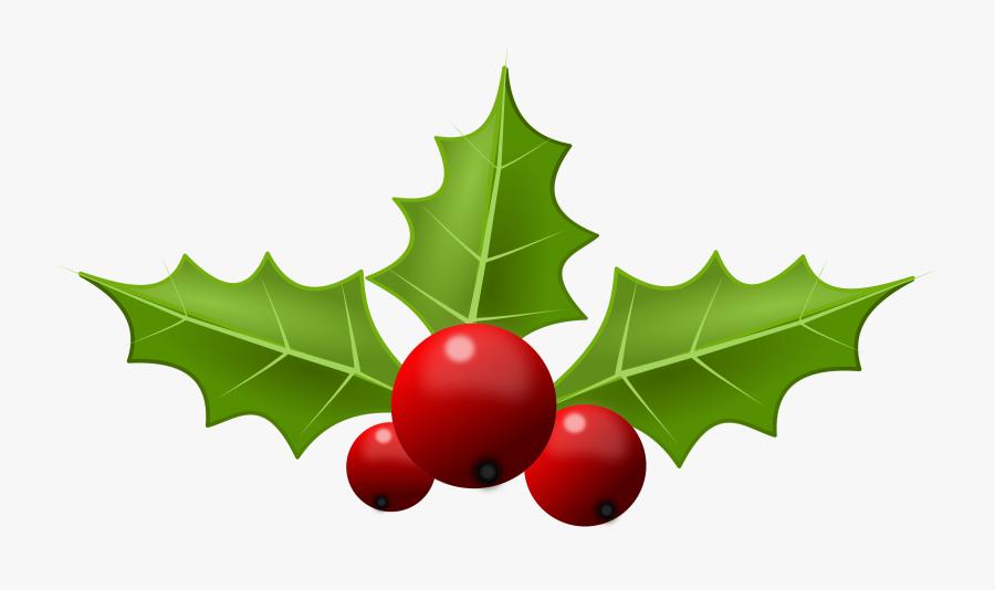 Free Holly Clipart Public Domain Christmas Clip Art - Christmas Holly Clipart, Transparent Clipart