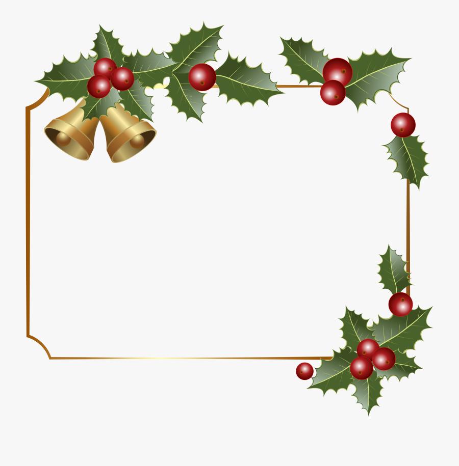 Transparent Christmas Clip Art Borders - Transparent Christmas Border Clip Art, Transparent Clipart