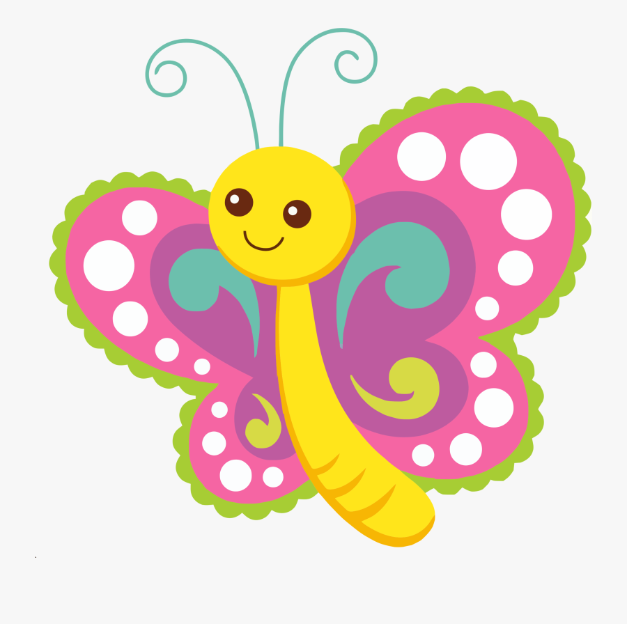 Pin By Zuraidah Hasan On Animals & Shelters - Cute Butterfly Clip Art, Transparent Clipart