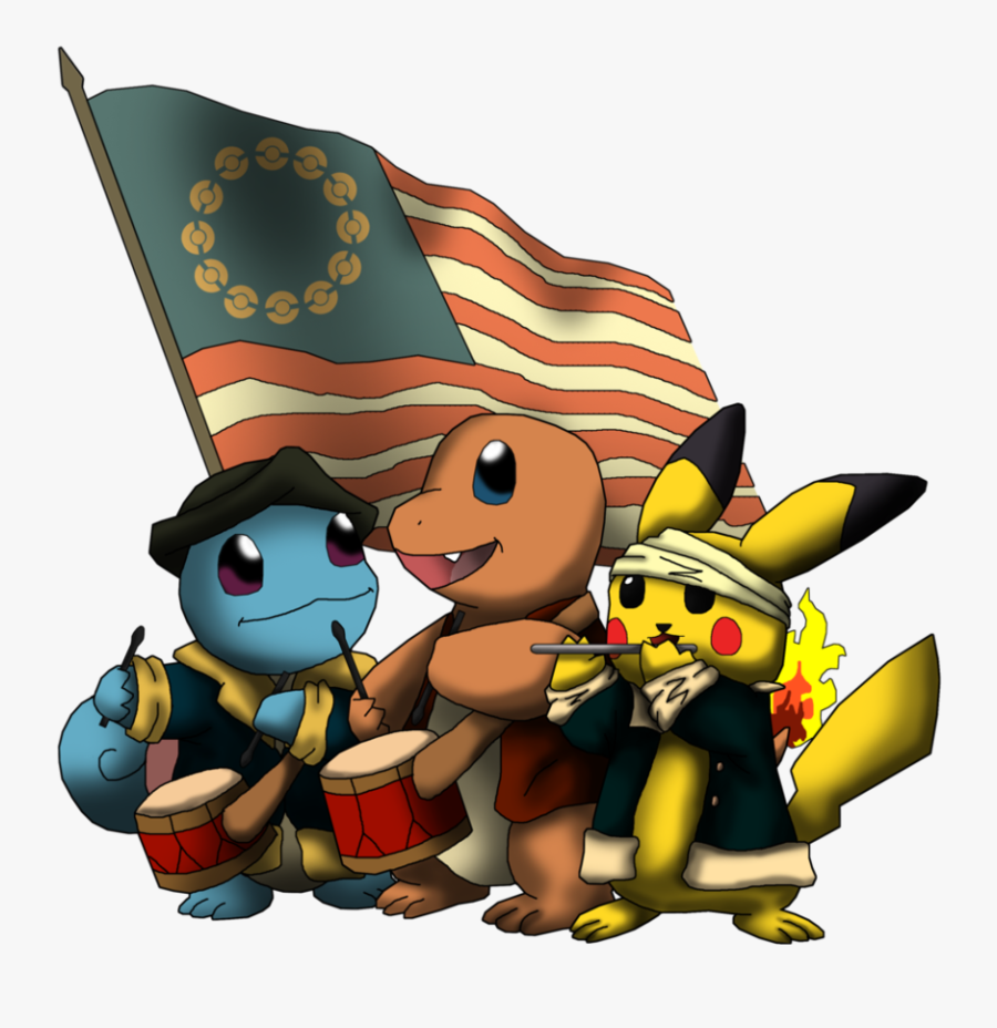 Traditional Games » Thread - Pokemon 4th Of July, Transparent Clipart
