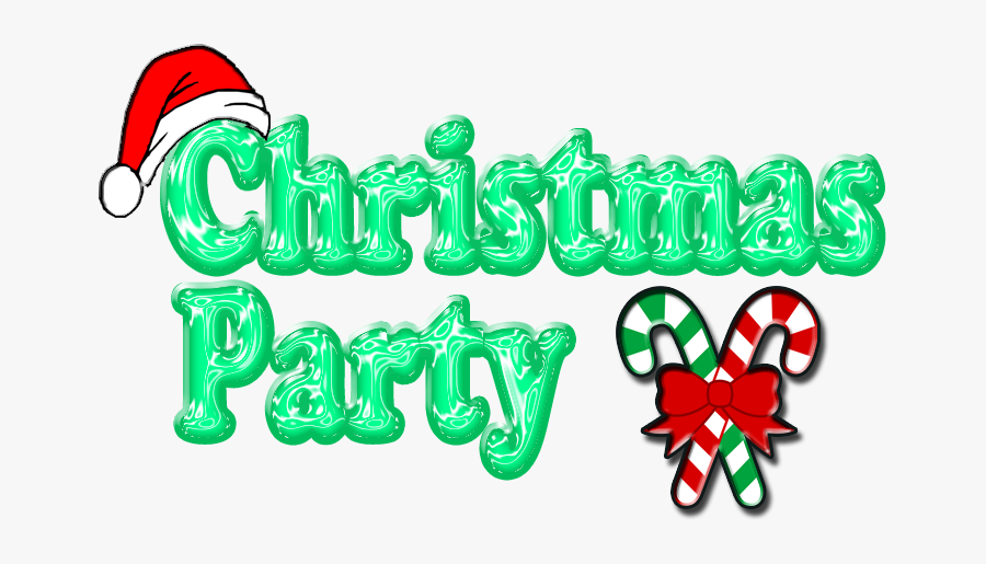 Clip Art Christmas Party, Transparent Clipart