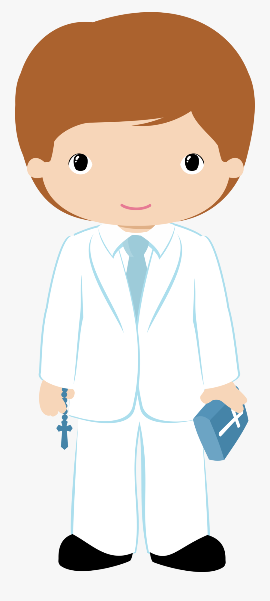 Boys First Communion, Christening, Baptism Cookies, - First Holy Communion Boy Clipart, Transparent Clipart