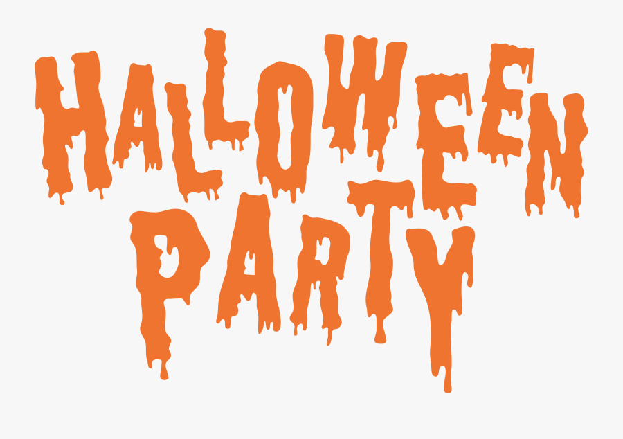 Halloween Party Clipart - Halloween Party Clipart Black And White, Transparent Clipart
