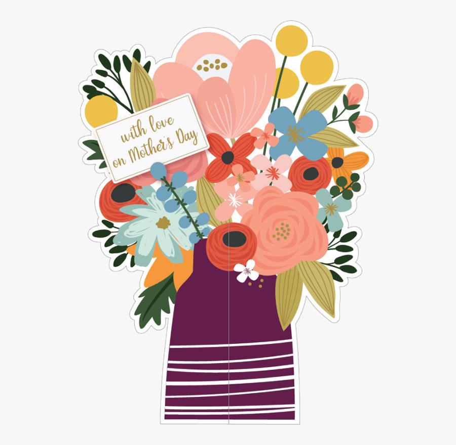 Flower Mothers Day Clip Art, Transparent Clipart