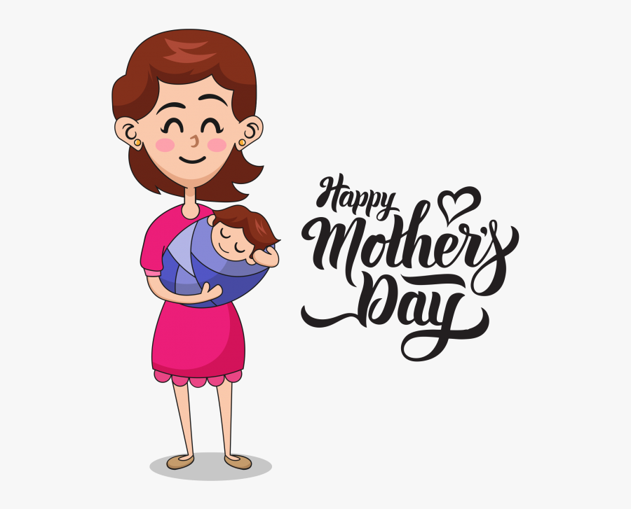 """Happy Mother""""s Day Free Download Searchpng - Happy Mother's Day Png, Transparent Clipart"""