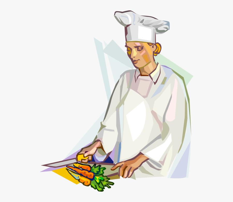 Transparent Female Chef Png - Female Chef Clipart, Transparent Clipart