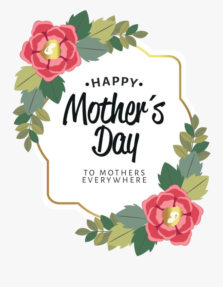 """Happy Mother""""s Day - Mothers Day Png Transparent, Transparent Clipart"""