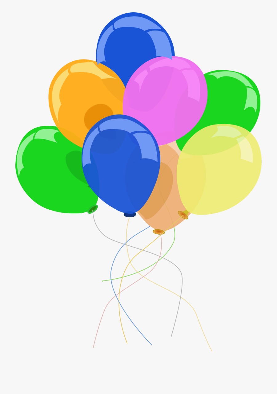 Clip Art Party Balloon Clipart - Clip Art Party Balloons, Transparent Clipart