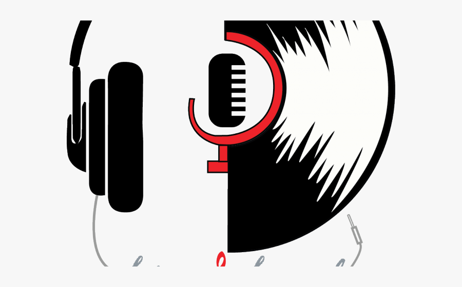 Company Logos Clipart Headphone - Headphone Logo Design, Transparent Clipart
