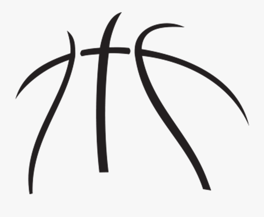 Basketball Cliparts For Free Clipart Symbol And Use - Basketball Outline Clipart, Transparent Clipart