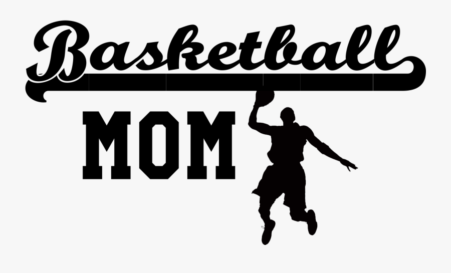 Clipart Mom Basketball - Dribble Basketball, Transparent Clipart