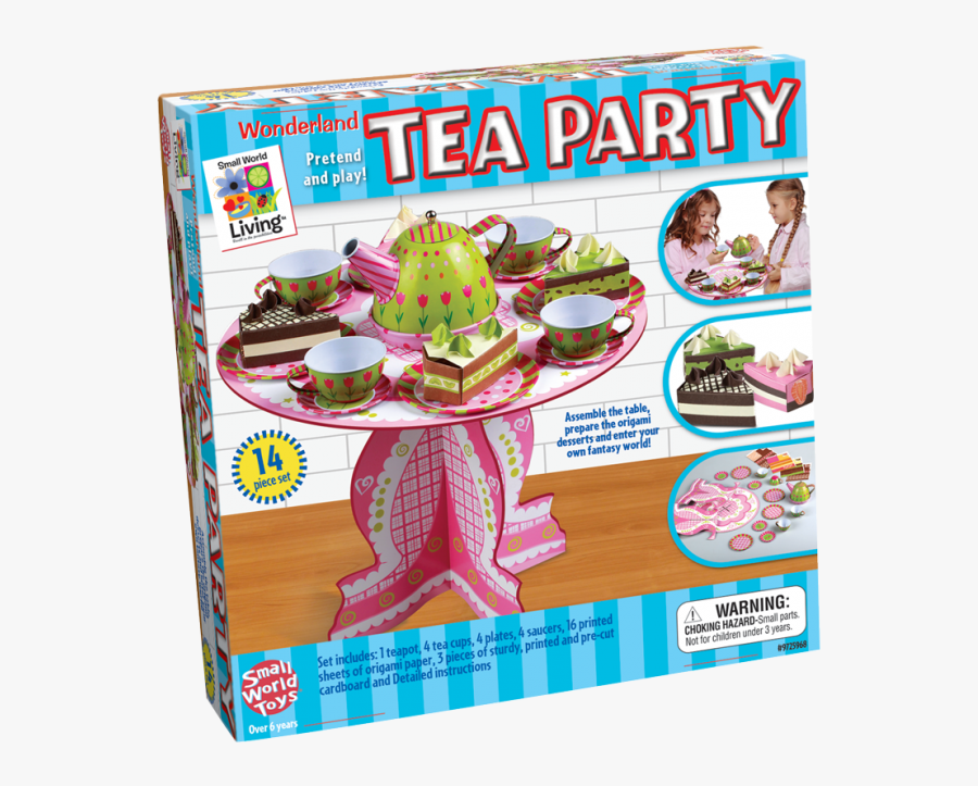 Wonderland Tea Party - Christmas Day, Transparent Clipart