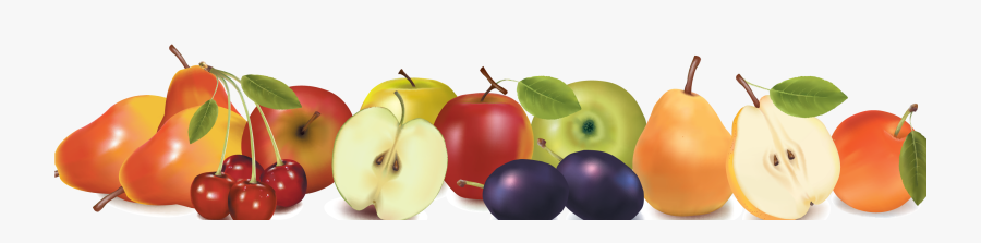 Border Design Acur Lunamedia - Border Design Fruits And Vegetables Clipart, Transparent Clipart