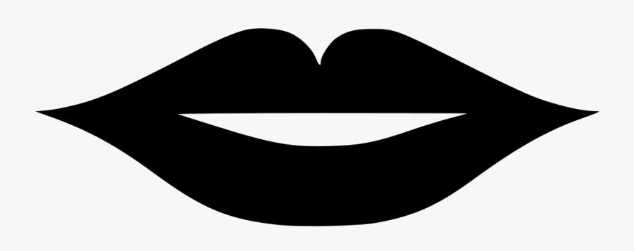 Thin Lip Svg Transparent Cartoons Lips Png Black Free Transparent Clipart Clipartkey