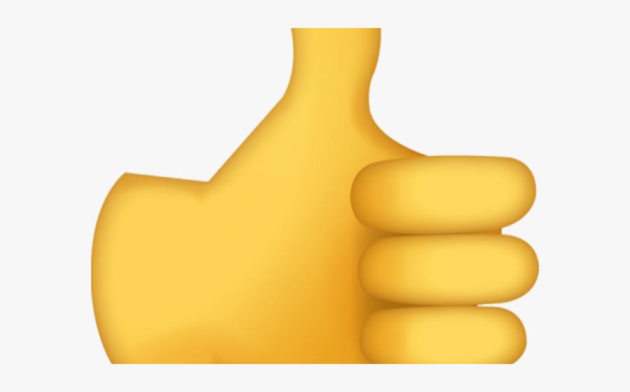 Transparent Urbanization Clipart - Emoji Thumbs Up Gif, Transparent Clipart
