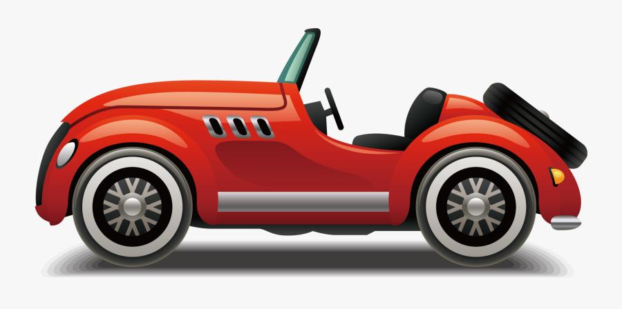 Open-top Car Sports Vector Design Automotive Clipart - Open Top Car Vector, Transparent Clipart