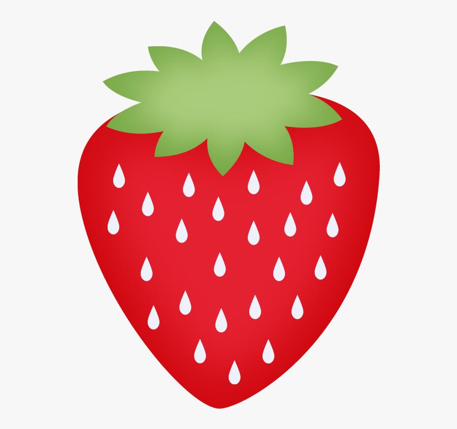 Printable Strawberries Clip Art, Transparent Clipart
