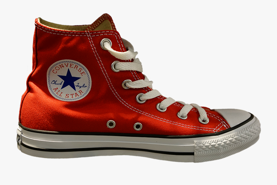 Shoe,maroon,outdoor Shoe,hiking Boot,walking Shoe,athletic - Converse All Star, Transparent Clipart