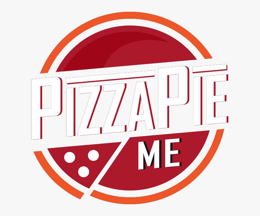 Pizza Pie Logo, Transparent Clipart