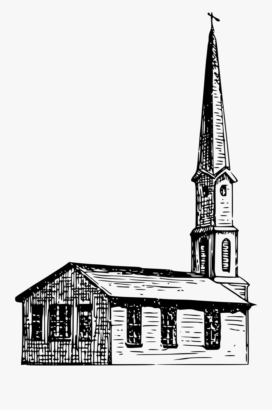 Small Church Clip Arts - Church, Transparent Clipart