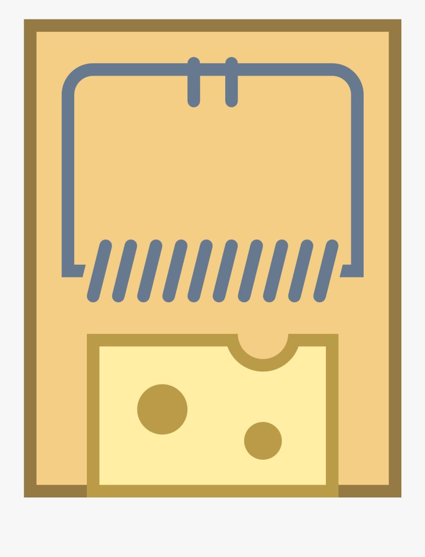28454 - Mousetrap Icon, Transparent Clipart