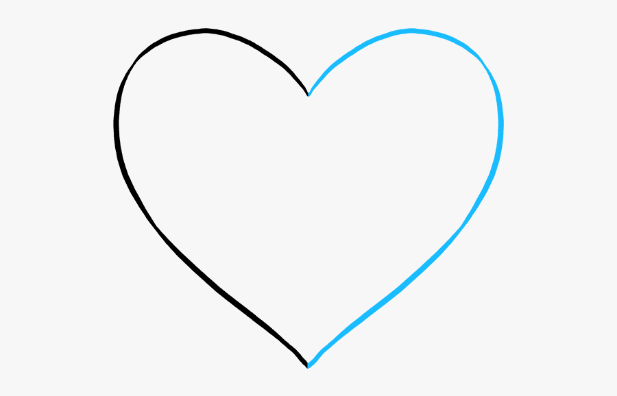 How To Draw A Broken Heart Really Easy Drawing Tutorial - Heart, Transparent Clipart