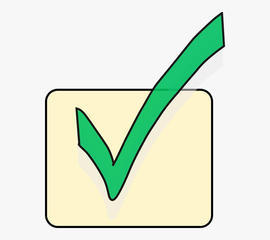 Green Tick Tick Free Images On Pixabay Clipart - Biểu Tượng Dấu Check, Transparent Clipart