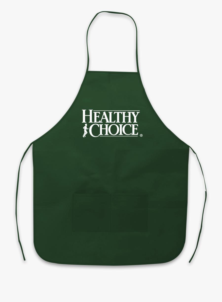 1492 Non-woven Apron - Healthy Choice, Transparent Clipart