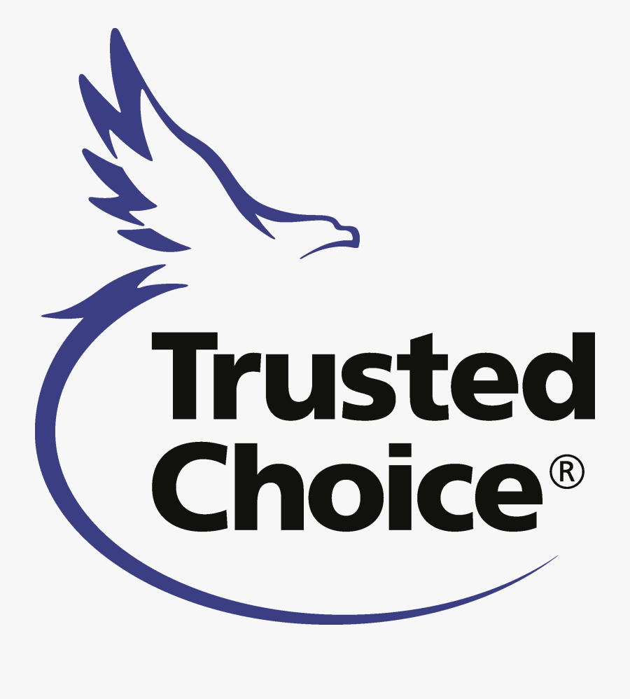 Trusted Choice Insurance Logo, Transparent Clipart